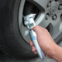 automobile tyre gauge - TPMS Tools High Precision in Digital LCD Car Auto Tire Gauge Tyre Meter Pressure Automobile Emergency Hammer Flashlight Cutter