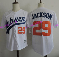 Baseball best baseball universities - 2017 Auburn Tigers Bo Jackson College Baseball Jerseys Bo Jackson Stitched University Baseball Jersey Best Quality S XXXL