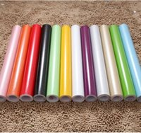 Paper Back Vinyl Wallpapers bedroom supplies - LEFU roll supply cm m self adhesive PVC pearl paper Decorative Waterproof Film PVC stickers for Kitchen Cabinet per roll