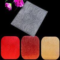 Wholesale Wave Plastic Embossing Folder For Scrapbook Love Heart Oval Mirror Stencil Template DIY Album Paper Card