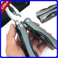Wholesale Survival Hand Tools Crimping Large Alicate Knife Screwdriver Multi Functional Multitool Folding Pliers Ferramentas HK HW