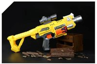 Wholesale 2016 New Burst Fire Rifle Nerf Modulus Tri Strike Gun toy Soft Bullets Electric Gun Christmas Birthday Gift Toy For Boy Child ABCD