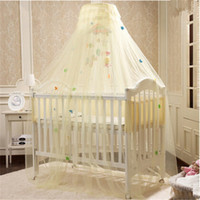 baby crib bedding sale - Hot Sale Yellow White Pink Color Baby Infant Kids Bed Net Baby Crib Canopy Tent Kids Crib Mosquito Net Cortina Para Cama Dossel