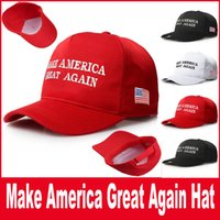 Wholesale Make America Great Again Donald Trump Hat Cap Republican hot fashion US Trump For President USA Hat