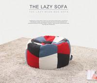 Wholesale GENIUINE LEISURE TATAMI CLOTH SOFA MULTICOLOR FASION MODERM STYLE LIVING ROOM SIMPLE FURNITURE GOOD QUALITY F09