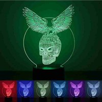 best bedroom colors - Animal Eagle and Skull Shape D LED Night Lights Light Colors Table Lamps Bedroom Kids Toys Best Gifts mm