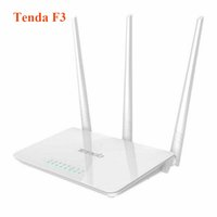 Wholesale Tenda F3 M Wireless WiFi Router Support g b n WiFi Repeater WDS WPS English Firmware Match with Tenda A301 Repeater