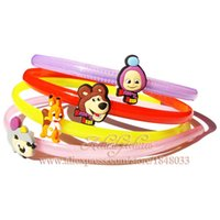 Bookmark best hair metal bands - Cute Hair Accessories Of Masha And Bear Cartoon School Supplies Office Stationery Hair Bands Girl Birthday Party Best Gift