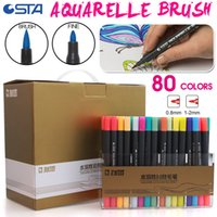 Wholesale Bianyo Colors Water Based Ink Marker Pen Design Paint Sketch Manga Copic Markers for Art Supplies