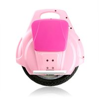 Wholesale NO TAX FR US RU New One Wheel Intelligent Self Balancing Scooter Unicycle Solowheel Bike Monocycle Electric Skateboard Hoverboard PINK