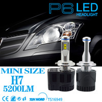 al por mayor faro 55w-55W 5200LM Car LED faro Para bmw vw honda toyota jeep wrangle faro H7 H11 HB3 HB4 llevó bombillas de reemplazo