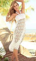 beach sellers - Hot Seller Sexy Ladies Summer Swimwear Bikini Cover Up Beach Sarong Hlater Dress And Skirt Two Wear Women Crochet Pareo skirts Beach Wear