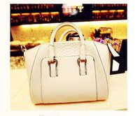 Wholesale Splendid brands fashion Newest Hobos bag Women Shoulder Bag Black White Faux Leather Satchel Cross Body Tote Handbag Women
