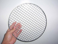 Wholesale Round Barbecue BBQ Wire Mesh Galvanized Steel Wire High Quality BBQ Grill Netting for Food Roasting
