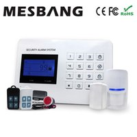 Wholesale Office Shop Home Alarm system Wireless GSM Alarm system With APP control