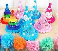 baby king crown - Boys Girls Baby Kids Princess King LED Crown Happy Birthday Party Hats Fancy