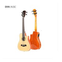 acacia veneer - Enya Enya guitar EUB inch a tiger acacia wood veneer Youbeisiyou guitar Rose wood Single plane