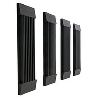 acoustic wall panels - 2 Set Acoustic Treatment Noise Elimination Noisecontrol Studio Soundproof Panel Foam Wall Wedge Tiles Black and Coffee Spong