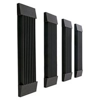 Wholesale Acoustic Wedge Studio Soundproof Panel Foam Wall Tiles Black and Coffee Spong Set