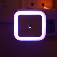 aura sensor - Square Aura Night Light Home Improvement Small Gift Decorative Lights LED Sensor Small Bedside Lamp Children Infant Night Light Wall Lamp