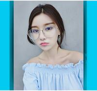 Wholesale Vintage Eyewear Frame Myopia Glasses Clear Lens Women Spectacle Frame Men Eyeglasses Optical Glasses Frame Male Lunette
