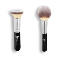 ball hairs - Brand Makeup Brushes it cosmetics HEAVENLY LUXE BUFFING FOUNDATION WAND BALL POWDER make up blending blush Highlighter contour brush