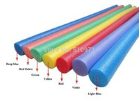 Wholesale swimming pool noodles x150cm solid inside for swimming water floating chair Water Sports toys Wacky Pool Noodle toy