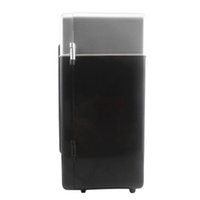 abs usb cooling - New Black ABS V W USB Car Portable Mini Drink Cooler New Car Boat Travel Cosmetic Fridge High Quality Hot Selling