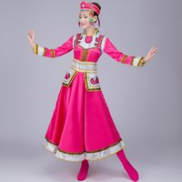 Wholesale The new Mongolian clothing dance clothing women s special ethnic minority costumes square dance grassland gown Scene shooting pictures