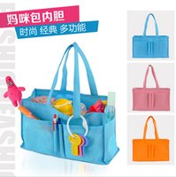 Wholesale Hot Sale Non woven Baby Bag For Mom Multifunctional Travel Nappy Bag Baby Diaper Bags Colors to Choose