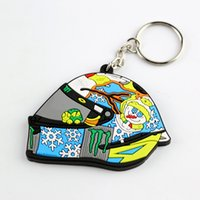 Wholesale KEYCHAIN VR46 TURTLE HELMET freeshipping rossi motorcycle culture product motogp new style