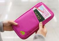Wholesale Mens Canvas Zipper Wallet Men Clutch Hand Bag Fashion Clutch Purse