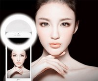 android lights - 10pcs Selfie Portable LED Ring Fill Light Camera Photography For IPhone Android Phone