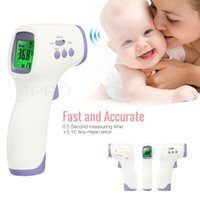 Wholesale Muti fuction Adult Baby Digital Termometro Infrared Ear Forehead Body Thermometer Gun Non contact Temperature Diagnostic tool