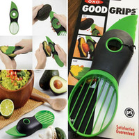 Wholesale 2017 Good Grips IN Avocado Slicer With Knife Pitter Peeler And Scoop Kitchen Utensil Tool WX S04