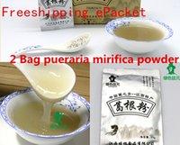 Wholesale Freeshipping g pueraria mirifica capsules wild puerarin Herbal Tea breast enlargement anticanc protection skin whitening