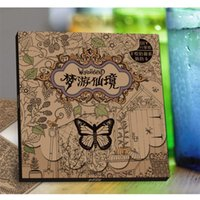 adult coloring sheets - 15 Sheets Coloring Card Tintage Postcard For Children Adult Release Stress Kill Time Painting Drawing Book Secret Garden