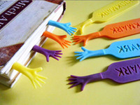 Wholesale 4pcs Cute Help Me Bookmark Office Supplies Mark My Comments Stationery