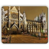 architecture office - mouse pad westminster abbey london building architecture evening Game Office MousePad