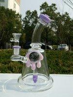 Hot meilleures tuyaux d'eau de qualité à deux fonctions clair Mini bubbler verre cendrier en ligne percolateur eau pipe pétrolier bong livraison gratuite