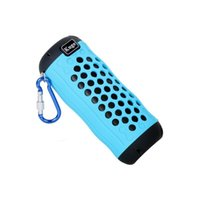Wholesale mini Portable Bluetooth Speaker TF SD Card wireless Built in mic Hand free Call outdoor indoor Bass AUX Line In Cycling torch splash proof