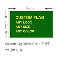 Wholesale DHL frshpping Football team club flag custom make ft ft Digital Print D polyester pongee custom flag rebel flag customize