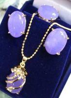 alexandrite engagement ring - Charming Alexandrite pendant necklace earring ring set