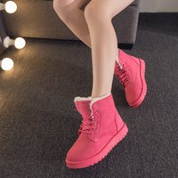 Wholesale women winter boots women winter shoes flat heel ankle boots casual cute warm shoes fashion snow boots women s boots Item No SP