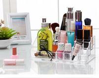 Wholesale Creative cosmetics receive jewelry boxes plastic transparent lipstick box of cosmetic boxes