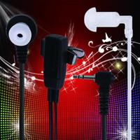 Wholesale 1 Pin Covert Acoustic Tube Earpiece Headset for Motorola Talkabout Two Way Radio Walkie Talkie GP88 GP300 GP308
