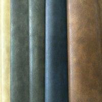 Wholesale Pressure change color retro PU leather