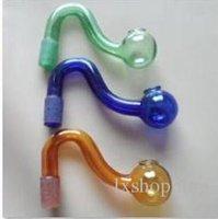 venda por atacado óleo de cozinha-A63 Tubos de fumar tubos de vidro de água óleo RIGS Glass Pipe Fittings Pote de cozinha Smoking Glass Pipes for bongs
