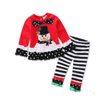 Wholesale 2016 new arrival year children Baby girl Kids Clothing christmas winter birthday party gift