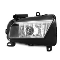 acura grille - 35W DC V Front Bumper Fog Lamp Grille Halogen Light Foglight for Audi A4 B9 Durable ABS Housing Easy to Install